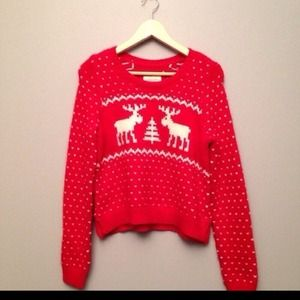 Abercrombie Fitch Sweaters Abercrombie Fitch Christmas Sweater