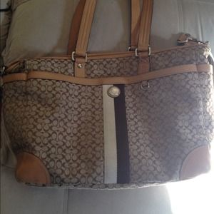 Sale Coach diaper bag