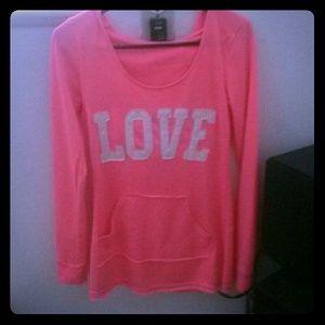 Pink love Sweater