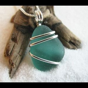 Sea Glass pendants