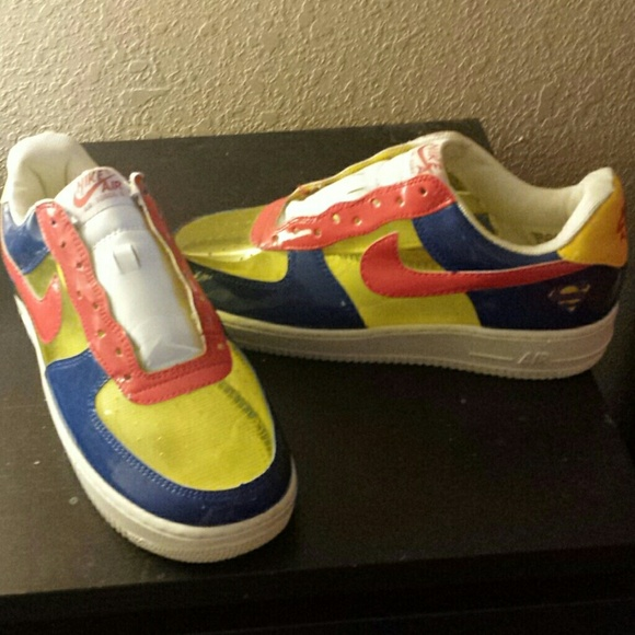 Nike Air Force 1 special addition superman