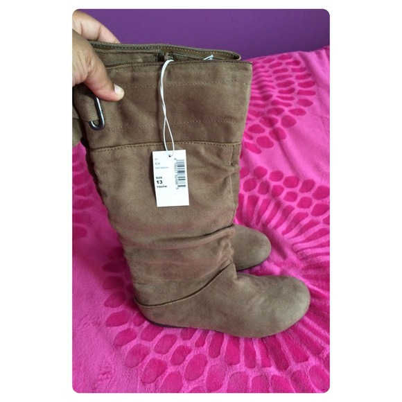 girls boots size 13