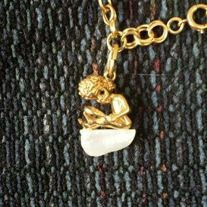 Jewelry - 14k gold cherub charm bracelet