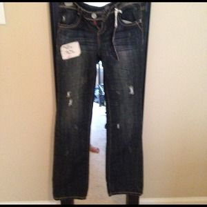 Almost Famous Destroyed Jeans...NEW NEVER WORN