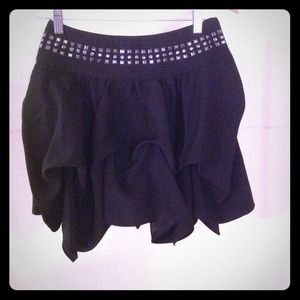 Romeo & Juliet Couture studded skirt