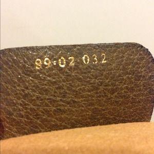 ee21f152d76b Gucci Bags - Vintage Gucci Vinyl Monogram Shoulder Bag
