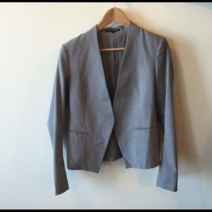 Theory Jackets & Blazers - Theory Grey Lanai Blazer Stretch Wool - worn once!