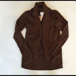 INC International Concepts Sweaters - BrAND NEW! Chestnut brown shawl collar sweater