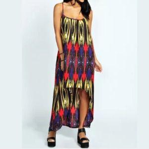 CLEARANCE☃Gorgeous vibrant print maxi dress - NWT