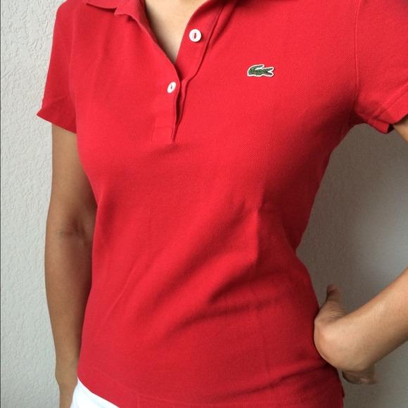 womens lacoste polo shirt