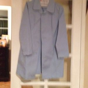 Light blue coat by style company. Wore once  .