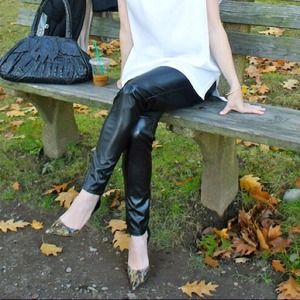 Michael Kors Pants - MICHAEL Michael Kors pleather leggings / pants