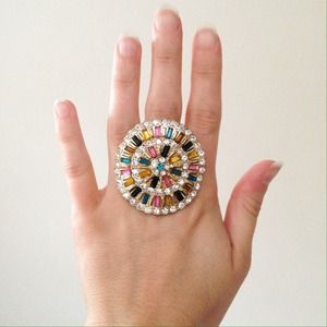 Jewelry - Colorful Jeweled Ring