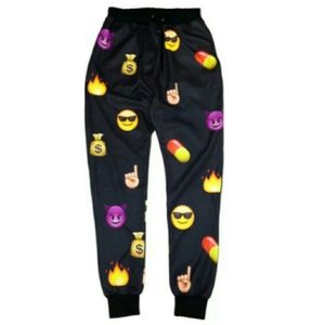 Pants - EMOJI SWEATS!