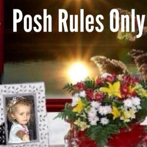Other - POSH RULES ONLY 🌹NO TRADES🌹️THANKS