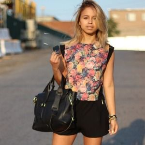 Floral Top from Zara