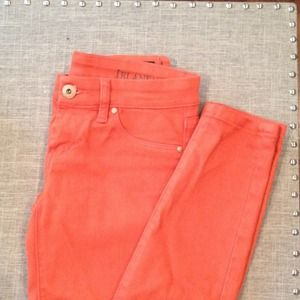 Blank NYC Orange Skinny Denim 