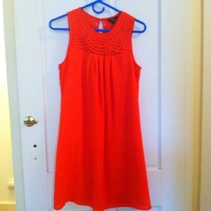 ModCloth Dresses & Skirts - Poppy sundress w/ belt - so cheerful!