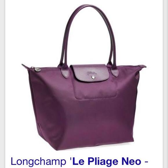 fa70b392e72b ✨NEW✨Longchamp Le Pliage Neo  Bilberry (violet)