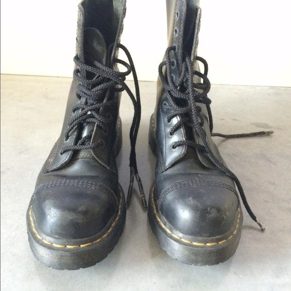 doc marten doc marten original black leather boots from