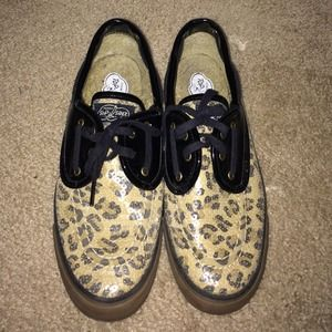 Sequin leopard Sperry Top sider MUST GO!