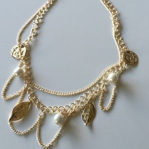 Jewelry - Gold Tone Coin Necklaces