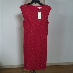 Bright Red Erin Fetherston dress