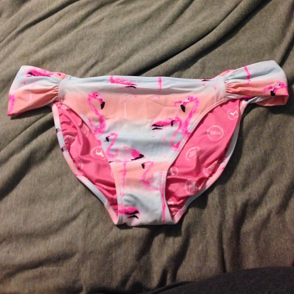 0cf356023f Victoria's Secret Swim | Vs Pink Flamingo Bikini Bottoms | Poshmark
