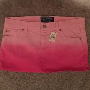 On Hold New vintage Victoria's Secret pink skirt