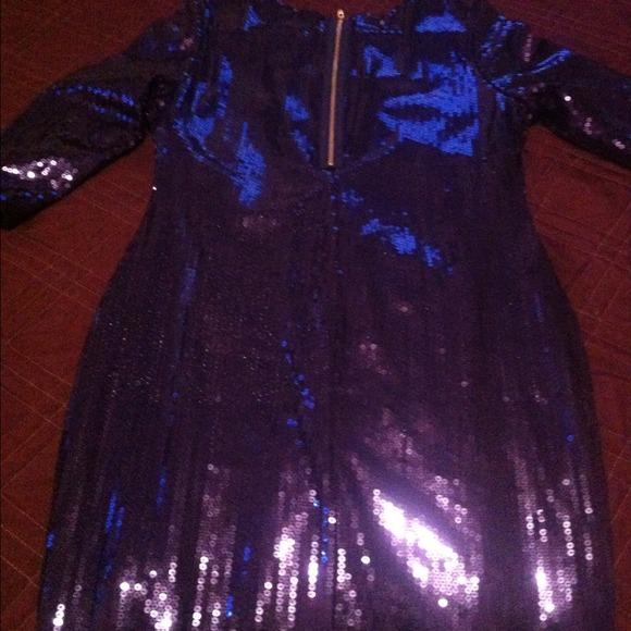 Sequin Bra H&m h m Blue Sequin Dress