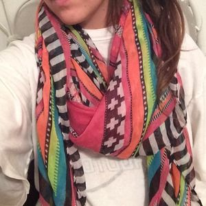 Multi colored scarf!