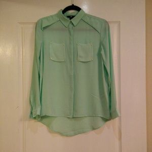 H&M Tops - Mint color blouse