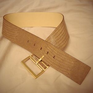 BR genuine leather belt