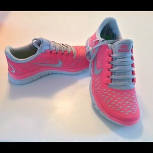 Nike Free Run 3.0 Rose Corail nJJMGU2