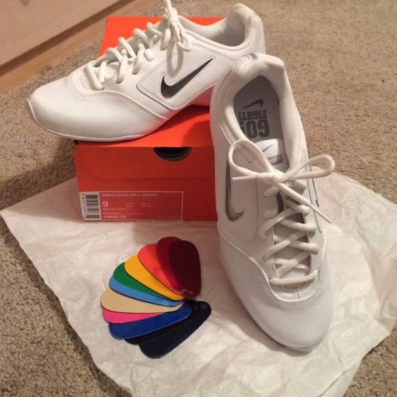 22 nike shoes nike white cheer shoes from megan s