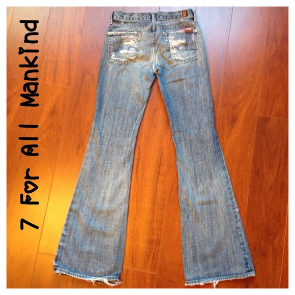 7 for all Mankind Jeans - 7 For All Mankind The Great China Wall Jeans 24 00