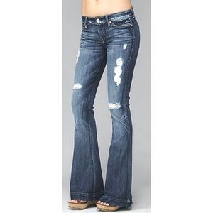 7 For All Mankind The Great China Wall Jeans 24 00