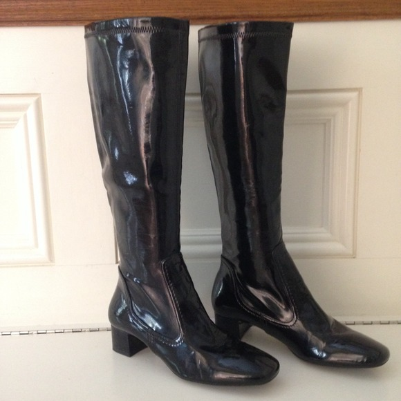05840215be0d Franco Sarto Shoes - Franco Sarto Black patent leather boots