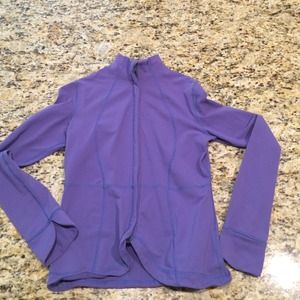 lululemon athletica Jackets & Blazers - Lululemon jacket purple size 8