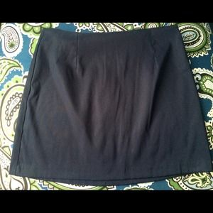 A. Byer Dresses & Skirts - Last Call! Worn Once! Navy Blue Work Skirt