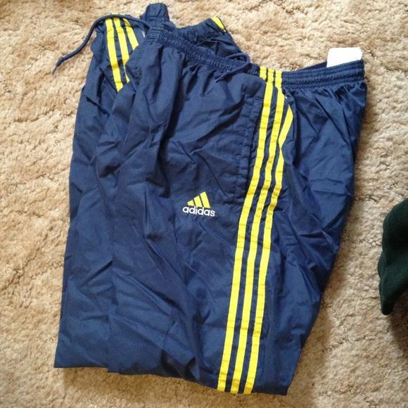 84% off Adidas Pants - Adidas wind pants from Teresa's