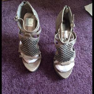 Dolce Vita studded ankle sandals