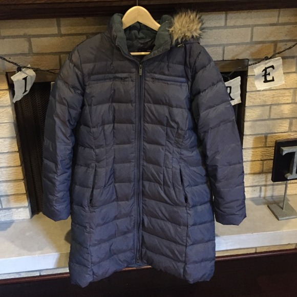 f98394087 Land's End Shimmer Down Coat. Less than 1 yr old.