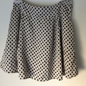 Polk-a-dot skater skirt