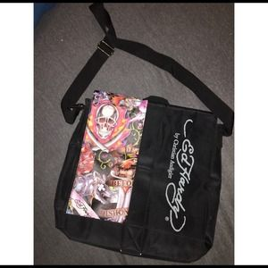 Ed Hardy Accessories   Never Used Messenger Bag   Poshmark c006afdeed
