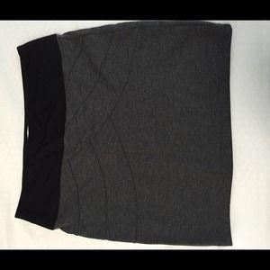 Dresses & Skirts - Black and grey mini skirt