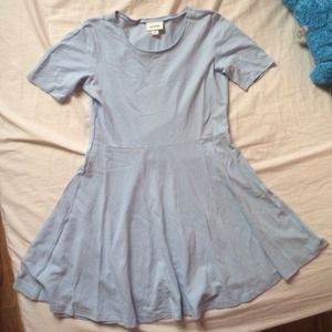 monki baby blue dress M