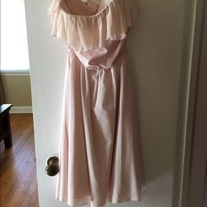 Strapless Alice + Olivia Dress