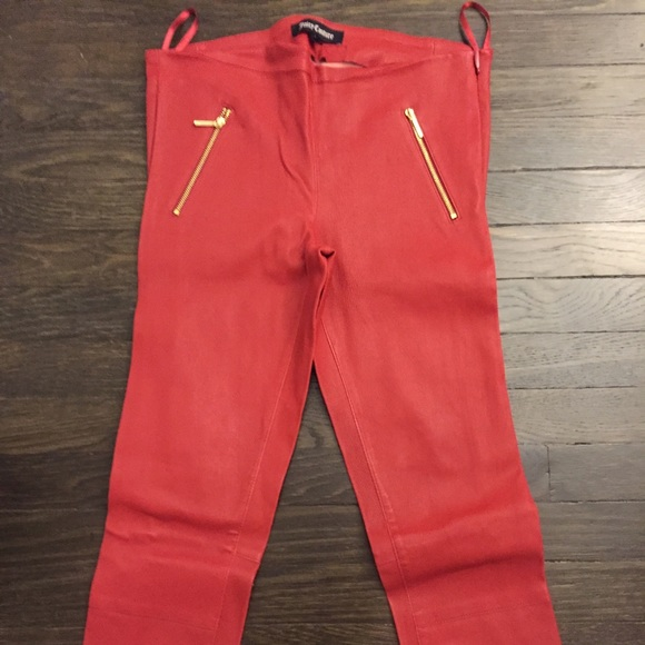 b165f364f89d Juicy Couture Pants - REDUCED  Juicy Couture Oxblood Leather Pants