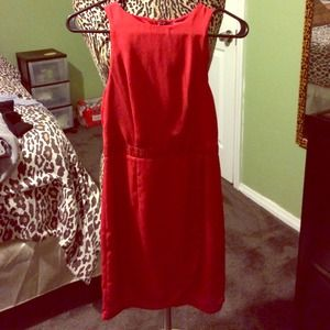 Tobi red dress